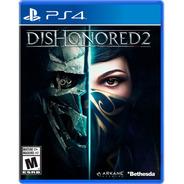 Dishonored 2 Formato Físico Ps4 Original