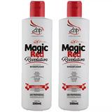 4 Magic Red Revolution + Brinde Finishing Pre Escova