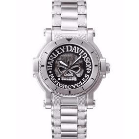 Reloj Harley Davidson Skull Calavera Envió Gratis 76a11