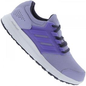 Adidas Feminino - Tênis para Feminino Violeta escuro no Mercado ... 9db24c68e30bb