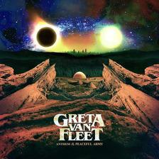 Cd Greta Van Fleet - Anthem Of The  Peaceful Army (2018)