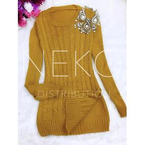 Suéter Para Dama Abierto A Los Lados