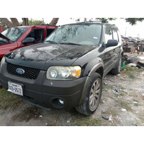 Ford Escape 2006 ( En Partes ) 2005 - 2007 Motor 3.0 Aut 4x4