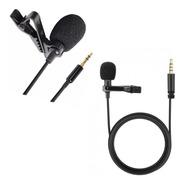 Microfono Corbatero Metal Celular Tablet Ficha Mini Plug 3,5
