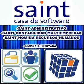 Software Sistema Saint Administrativo Contabilidad Y Nomina