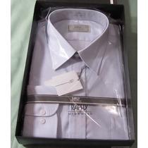 Camisa Raphy M.longa.work Ref.52062, Tam. 44-5,azul Claro.