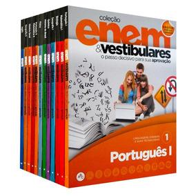 Coleção Enem Vestibulares - Edições 1-2-3-4 - Livros Físicos