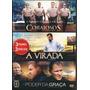 Box Dvd Corajosos + A Virada + O Poder Da Graça (3 Dvds)