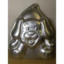 Molde Aluminio Pastel Gelatina Perro Cachorro Wilton Ind.