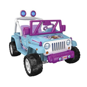 Fisher Price Power Wheels Frozen Jeep