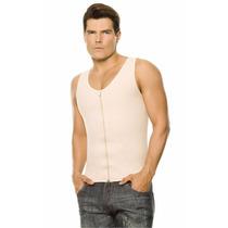 Faja Colombiana Ann Chery Camiseta Reductora Hombre Latex