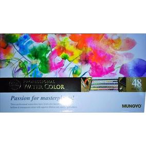 Acuarelas Profesionales Mungyo Gallery X 48 Colores
