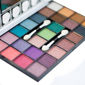 Paleta 25 Cores Sombras 3d Color Feminina Oferta Anycolor