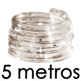 Manguera Luces Led 5 Metros Blanco Exteriores Contra Agua