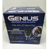 Alarma Genius Para Moto, Sensor De Impacto, 2 Controles