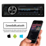Radio Automotivo Mp3 Player Usb Aux Bluetooth E Controle
