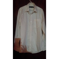 Camisa Manga Larga, Color Crema, Marca Renz Monsieur
