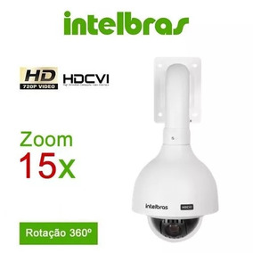 Câmera Speed Dome Intelbras Vhd 3115 Sd 15x Hdcvi 720p Wdr