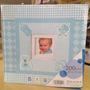 Álbum De Fotografia 200 Fotos Menino 10x15 Azul Bebê Cod 165