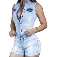 Macaquinho Pit Bull Pitbull Jeans 29371 Premium Macaquito