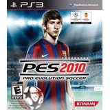 Juego Ps3 Pes 2010 Consola Play Station 3 Español En Caja