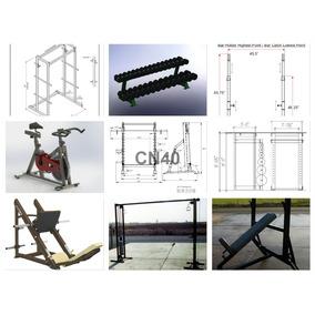 80 Planos Construye Maquinas De Ejercicios Gym Gimnasios