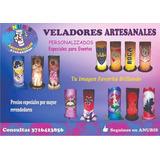 Veladores Artesanales 3d