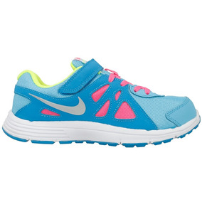Zapatillas Nike Niño Niña Flex Con Abrojo