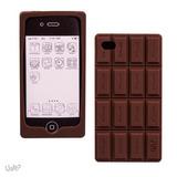 Capinha Case Silicone Iphone 4 4s - Barra De Chocolate