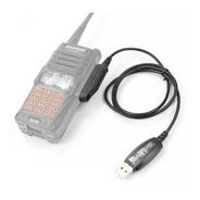 Cabo De Programação + Cd Para Uv9r Baofeng Radio Comunicador