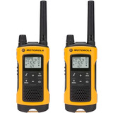 Radio Comunicador Talkabout 56km T400mc Amarelo Motorola
