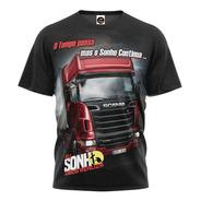 Camiseta Camisa Caminhoneiro Do Brasil Pe Na Estrada Blusa 1