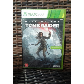 Jogo Rise Of The Tomb Raider Midia Fisica Xbox 360 Novo