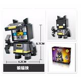 Batman Dc Envío Gratis! Brick Headz Miniblocks Armables 3d