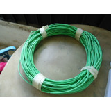 Cable Tw # 12 Awg 600v, Color Verde. 84 Metros