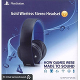 Playstation Gold Wireless Headset Ps4