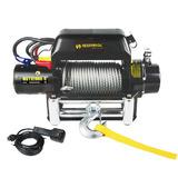 Winche Clasico Electrico 12000lbs 12 V Control Remoto