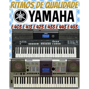 Ritmos Yamaha Psr E403 ,e413 ,e423 ,e433 , E443 ,e453, 540
