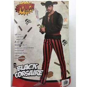 Disfraz Pirata Adulto Talla L Black Corsaire Halloween