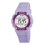 Reloj Slop Niña Color Lila Sw857511 - S023