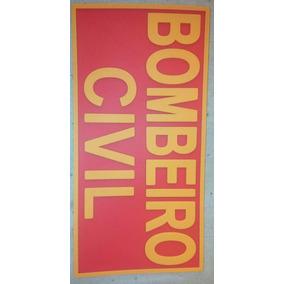 Brevê Emborrachado Bombeiro Civil