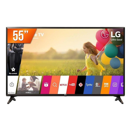 "Smart TV LG 4K 55"" 55UK631C"