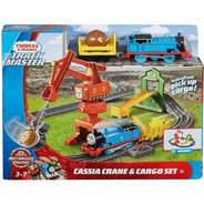 Tren Thomas Pista Grua De Cassia Motorizada Trackmaster