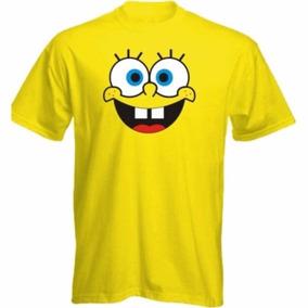 Camiseta Bob Esponja Blusa Manga Curta