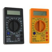 Multímetro Digital Portátil Pratico E Eficiente Com Bateria