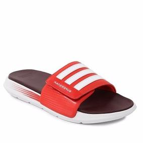 Ojotas adidas Natacion Superstar 4g C/abrojo Rojo C/blanco