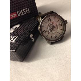 69312e66d88c Reloj Diesel Dz 1394 Pulso De Cuero Cafe 10 Bar Pulsera en Mercado ...