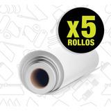 Promo 5 Rollos De Papel Bond 90 Grs 61 Cm X 46 Mts Plotters