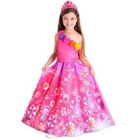 Fantasia Da Barbie Portal Secreto Luxo Infantil Princesa P