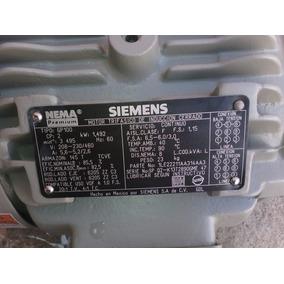 Motorelectrico De2 Caballosdefuerza Con 3459revoluciones